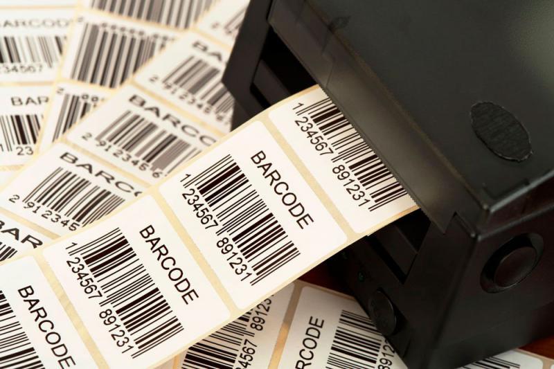 Etiqueta código de barras preço