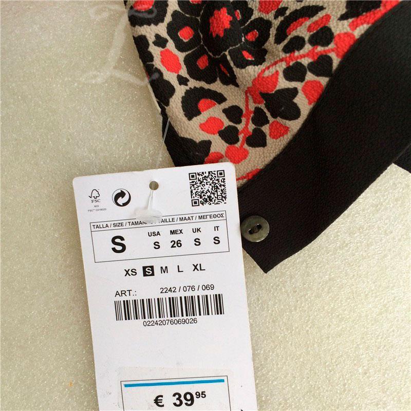 Etiqueta tag para confecção