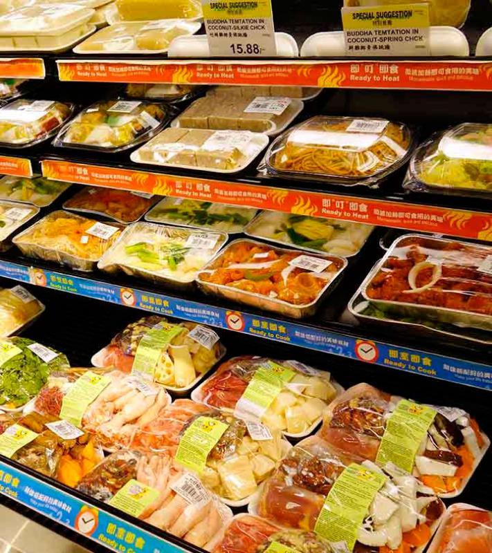 Rótulos para alimentos congelados