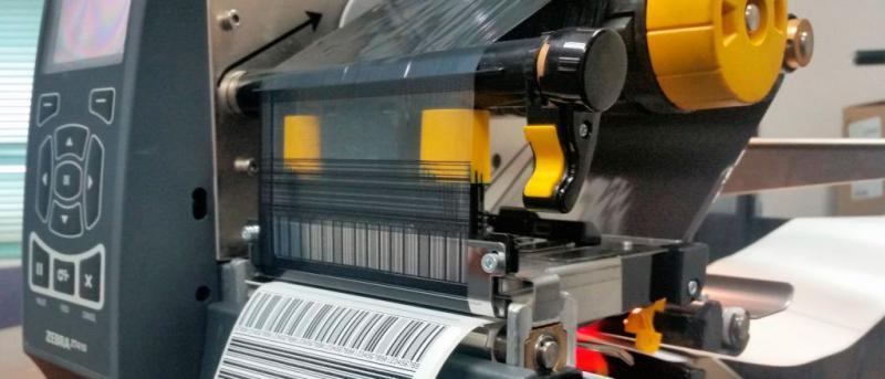 Serviços de impressão de código de barras