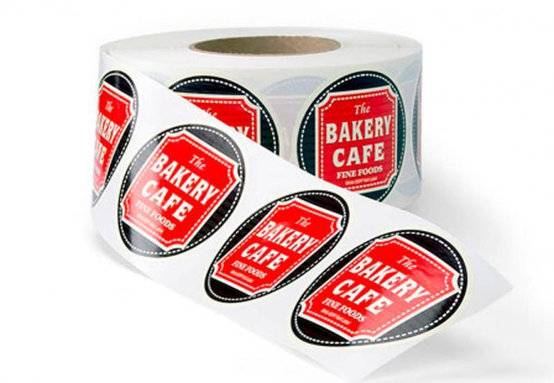 Etiqueta adesiva personalizada rolo