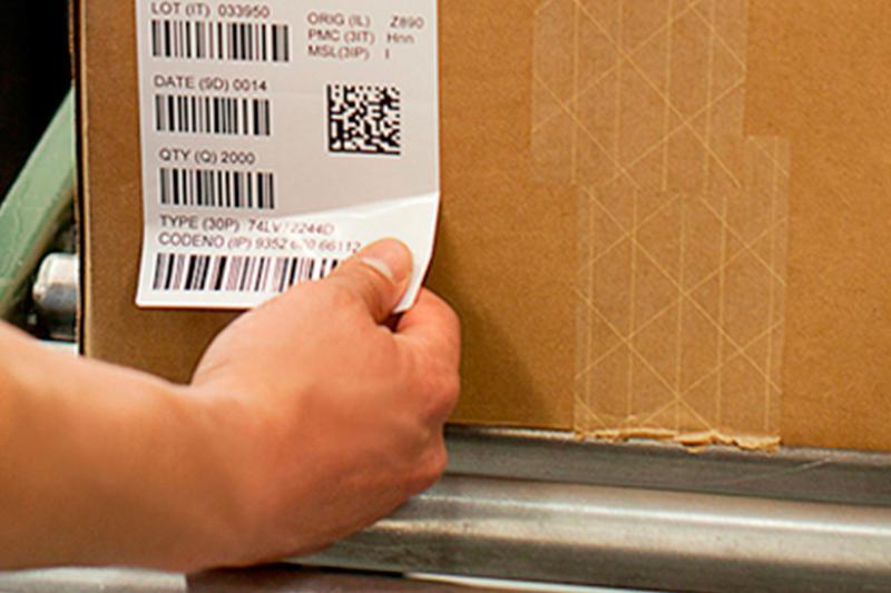 Etiquetas logística