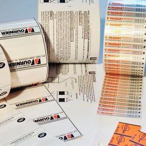 Etiquetas pré impressas