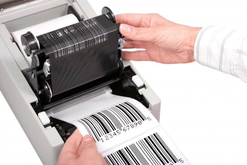 Ribbon para impressora de etiquetas