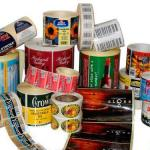 Etiquetas para indústria alimentícia
