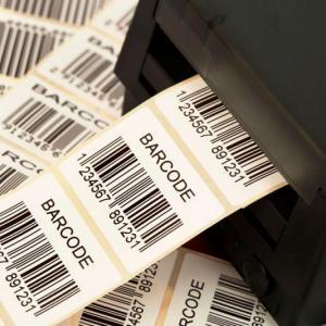 Fábrica de etiquetas de código de barras